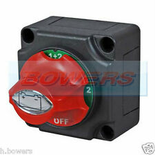 12V/24V MARINE 4 POSITION CHANGEOVER BATTERY ISOLATOR CUT OFF KILL SWITCH 300A
