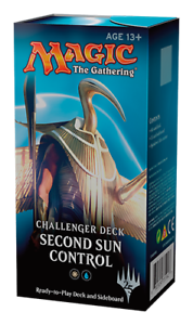 75 CARDS MAGIC THE GATHERING MTG SECOND SUN CONTROL SEALED CHALLENGER DECK