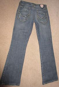 Women-039-s-Jeans-Deprtmnt-of-Peace-99-cott-1-spndx-factory-destruct-embellish-sz5