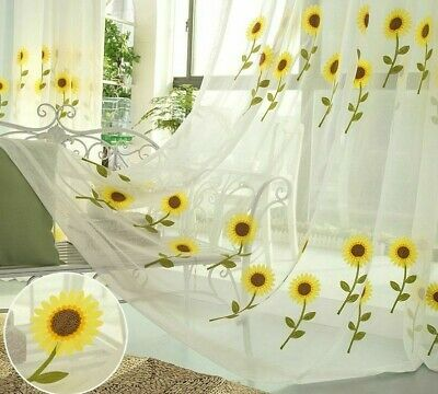 Past Sheer Tulle Curtains Modern, Patterned Kitchen Curtains