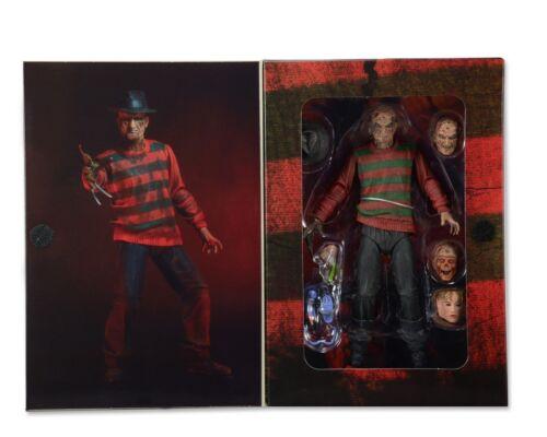 """Neca Pesadilla en Elm Street Ultimate Freddy 7/"""" figura 1984 2018 relanzamiento"""