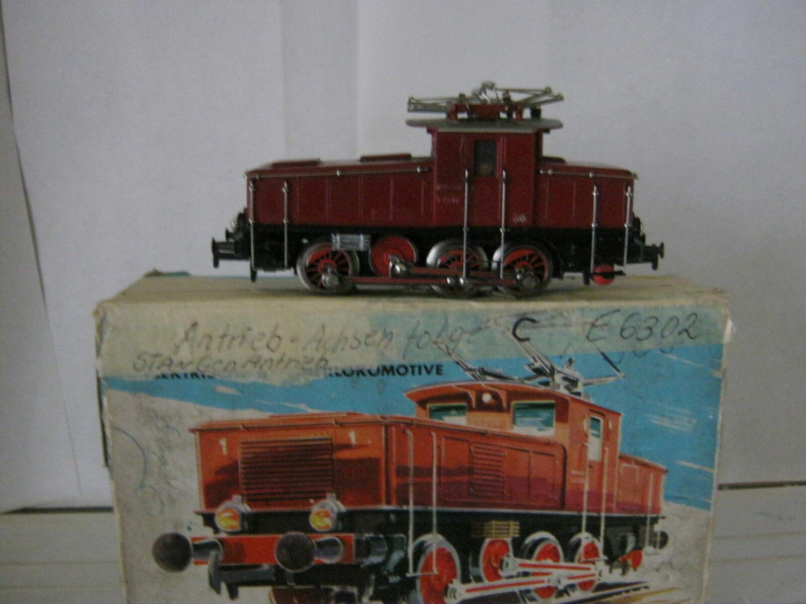 Märklin HO 3001 Elektro Lok BtrNr E 63 02 DB (RG BQ 290-65S2F3)  | Schöne Farbe