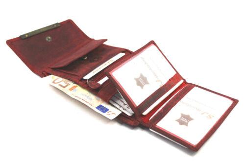 """SJ-00V30 Damen Echt Leder Portemonnaie Brieftasche,Geldbörse,Wallet /""""WILD/"""""""