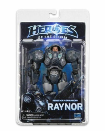 """NECA Jim Raynor Starcraft Heroes Of The Storm Blizzard Warcraft 7/"""" Action Figure"""