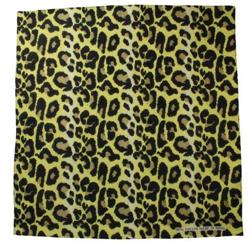 Bandana mit Leoparden Muster Halstuch Kopftuch Bandanas Nikki Tuch
