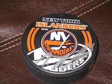 Nino Niederreiter AUTOGRAPHED NEW YORK ISLANDERS PUCK-WILD STAR