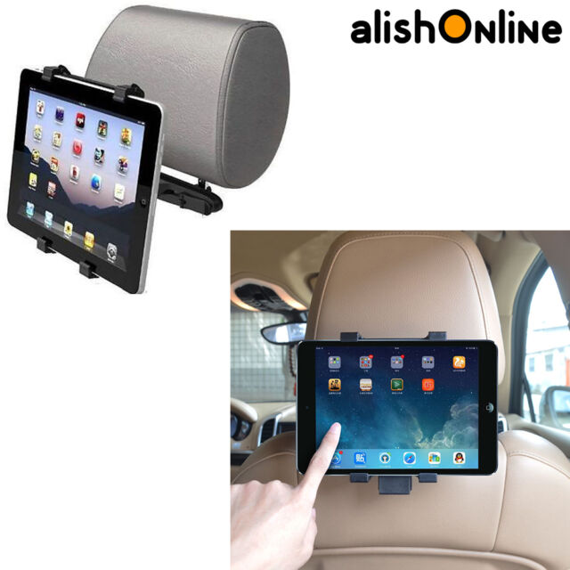 UK 360° Universal Tablet mount Motor Vehicle Headrest Tablet Support Apple iPad