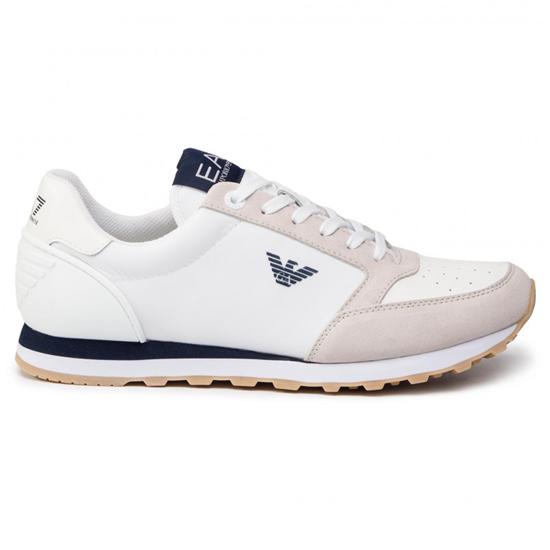 Emporio armani zapatos ea7 blancoo azul-6