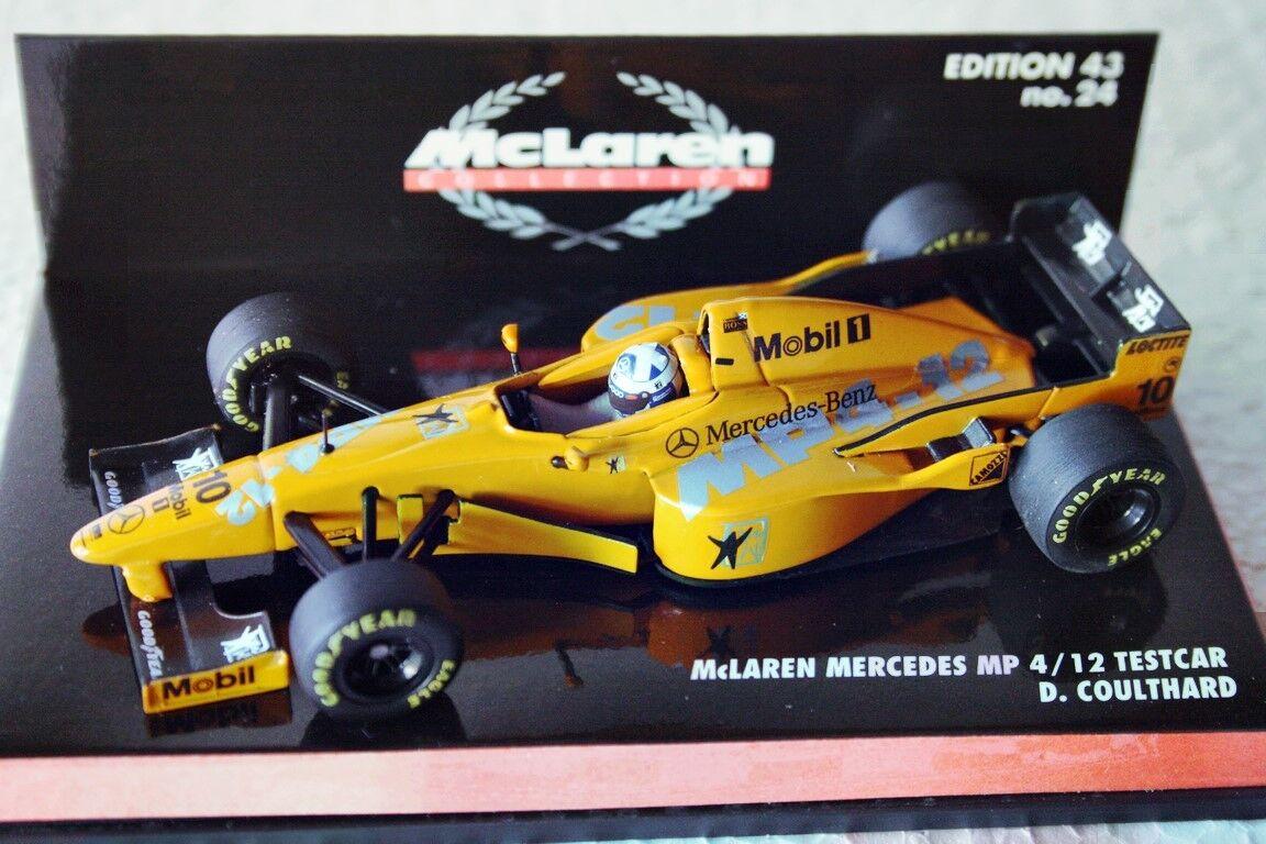 Mclaren mp4-12 testcar  coulthard  1997 1997 1997  Minichamps  1 43 363e49