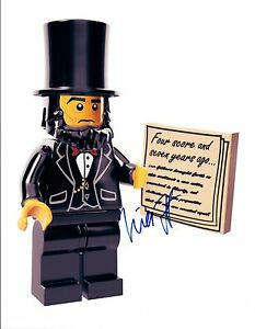 Will-Forte-Signed-Autographed-8x10-Photo-The-Lego-Movie-COA-VD