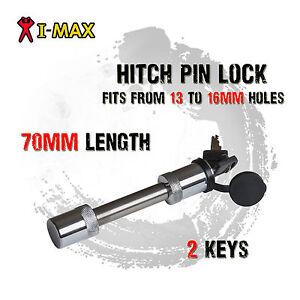 5/8 13 16 Hitch Pin Lock Straight Type Trailer Tow Bar Towbar Tongue 4WD Caravan