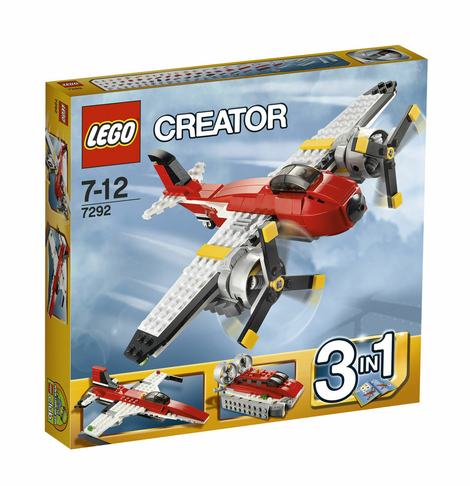 New Lego Creator Propeller Adventures 7292 sealed in box
