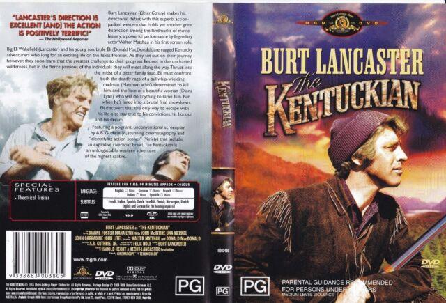 The Kentuckian (DVD, 2004) fb18 - Like New >.