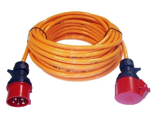 CEE Starkstromkabel 25m 16A PUR-Kabel H07BQ-F 5G2,5mm² NEU