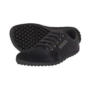 uk availability f47f9 a1d0f Details zu LEGUANO aktiv Barfußschuhe schwarz schwarze Sohle Joggingschuhe  Sneaker Schuhe