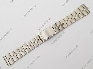 New Fishbone Steel Watch Strap Bracelet For Seiko 6139-7100 7101 Helmet Z050S