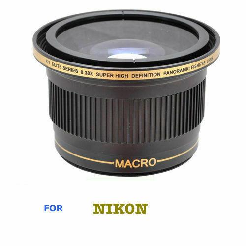 52MM 6 ELEMENT WIDE ANGLE+MACRO LENS FOR NIKON D5000 D5100 D5200 D5300 D5500 D40