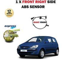 Para Hyundai Getz 1.1 1.3 1.4 1.5 Dt Crdi 1.6 I 2002 - & gt Delantero Derecho Abs Sensor De Velocidad