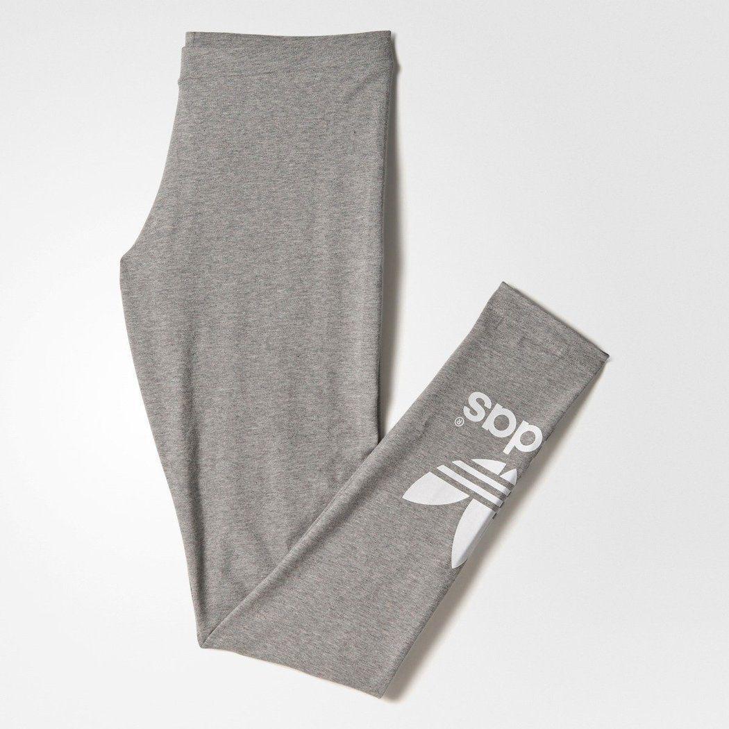 nwtAdidas TREFOIL GRAPHIC LEGGINGS Tight Yoga Gym Running PantsWomens size XL