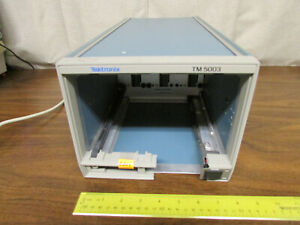 Tektronix TM5003 Mainframe with No Plugins For Parts Or Repair As-Is