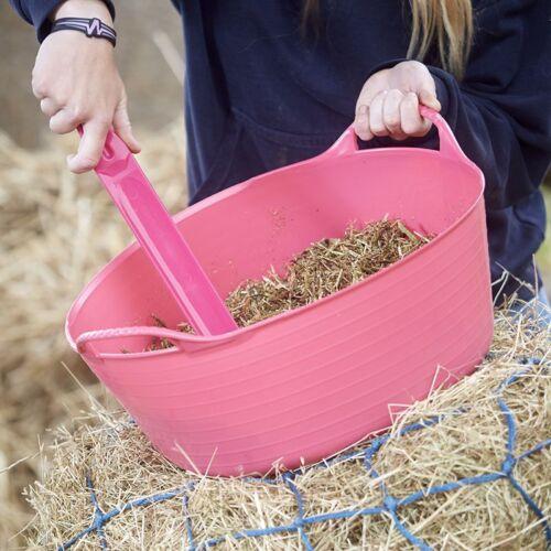 YELLOW Genuine Flexible TubTrug Shallow 15L Flexi TubTrugs Horse Feeding Bucket