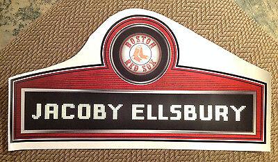 Baseball & Softball Rot Sox Jacoby Ellsbury Typenschild Fathead 66cm X 33cm Vinyl Mlb Wand Grafiken SchnäPpchenverkauf Zum Jahresende