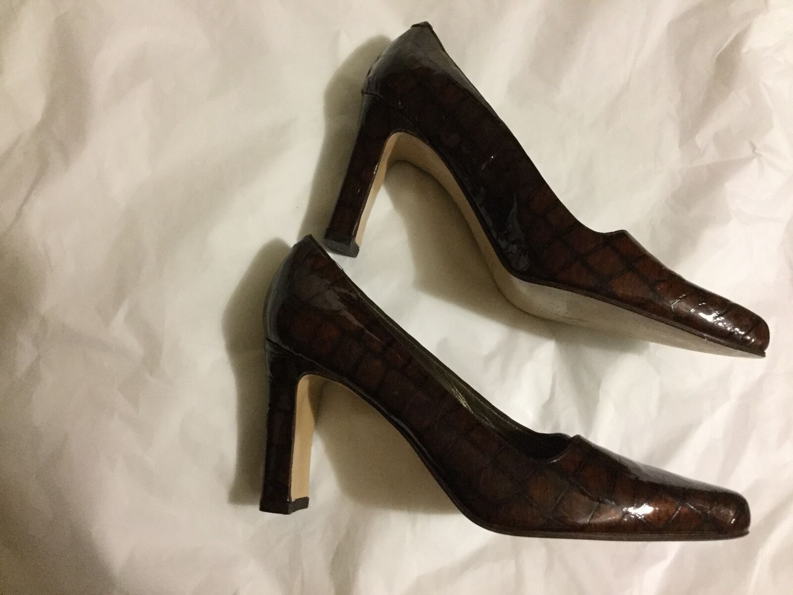 NEW Rangoni Firenze Made in in in  Leather Pumps - 6 ff9b3d