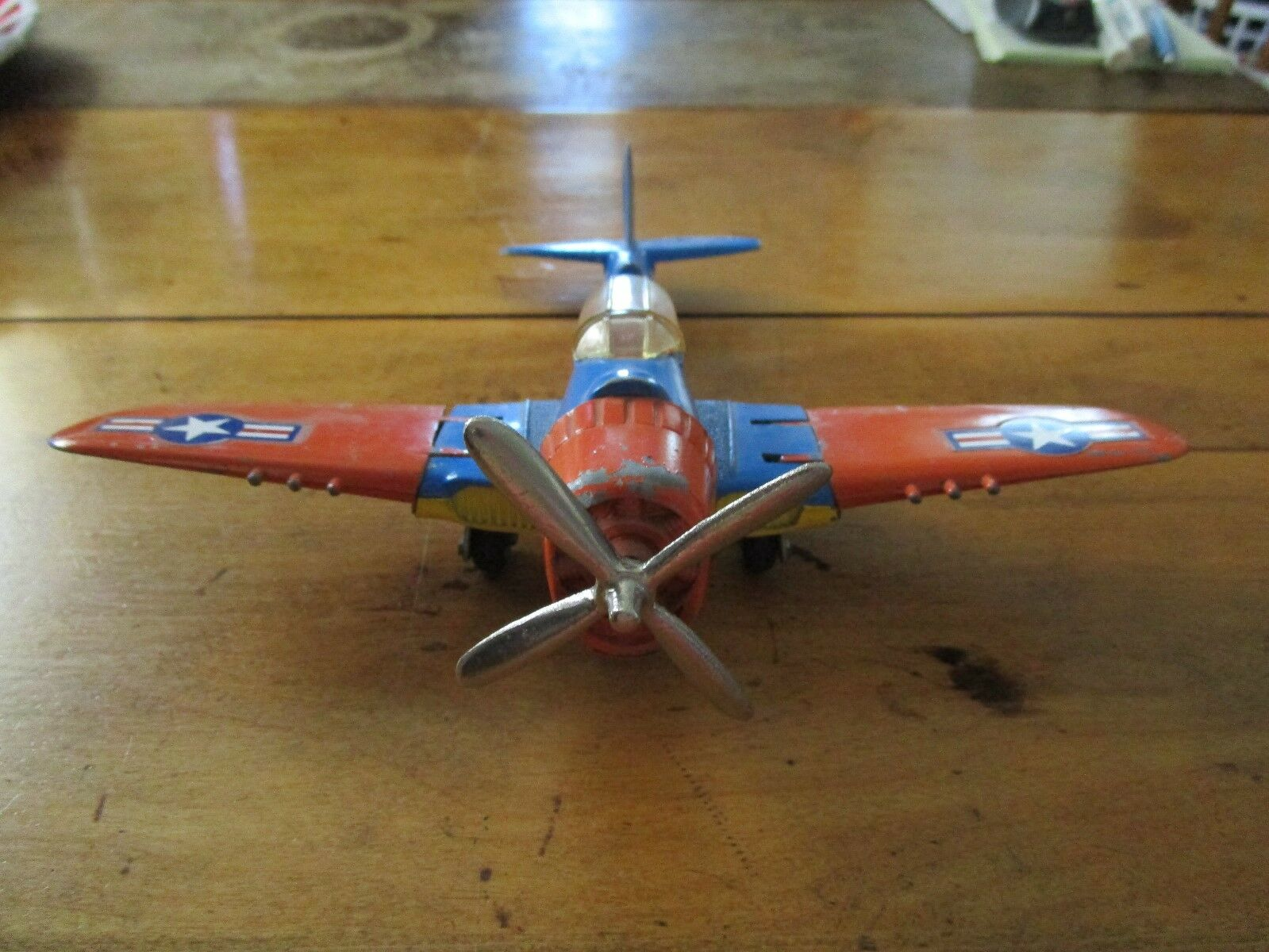 VINTAGE 1950'S HUBLEY MILITARY BOMBER AIRPLANE