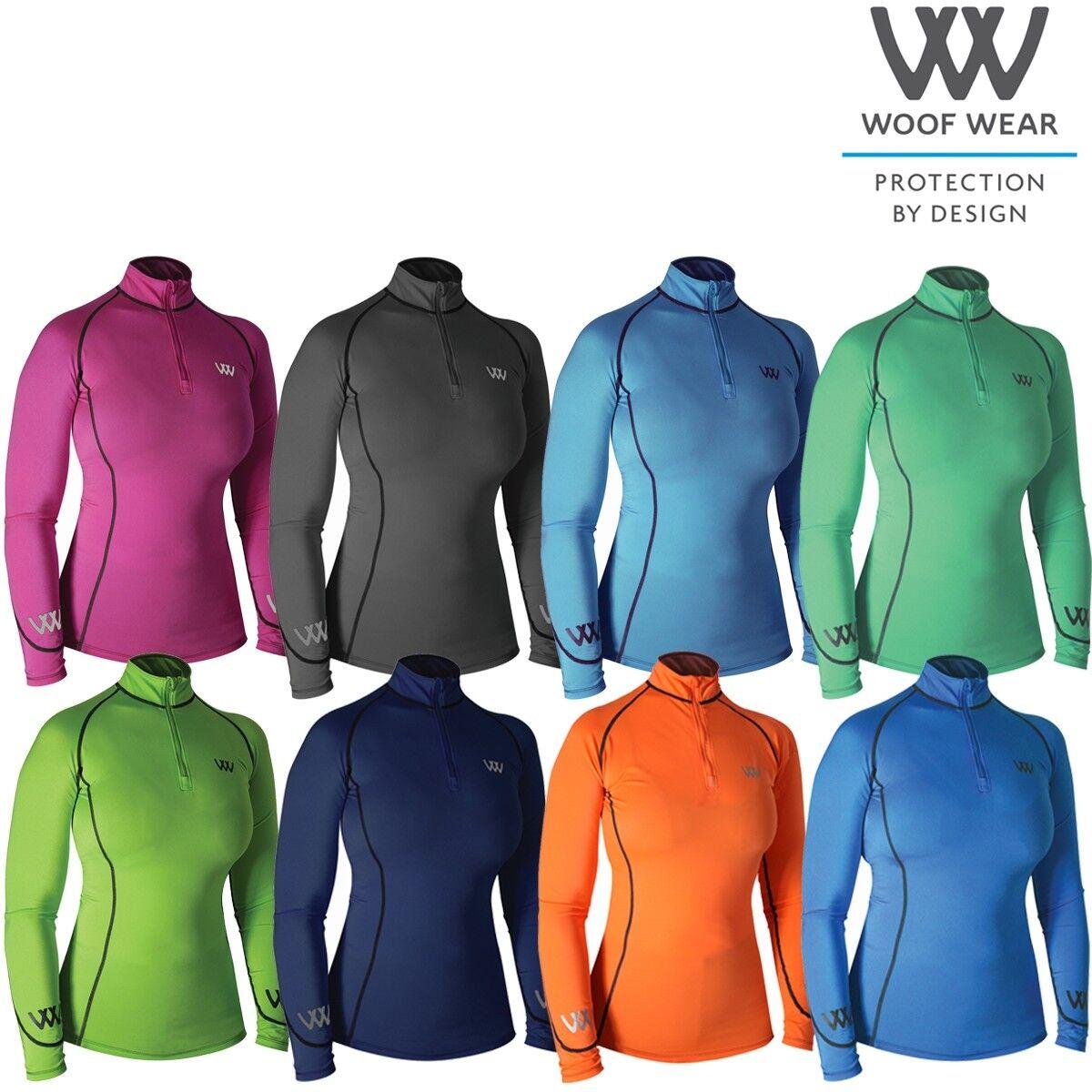 Woof Wear Ladies Performance Riding Shirt - Free UK Shipping