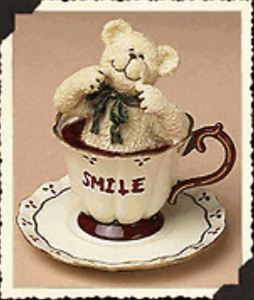 Boyds Bears Teabearies Collection Smiley Teabearie #24322