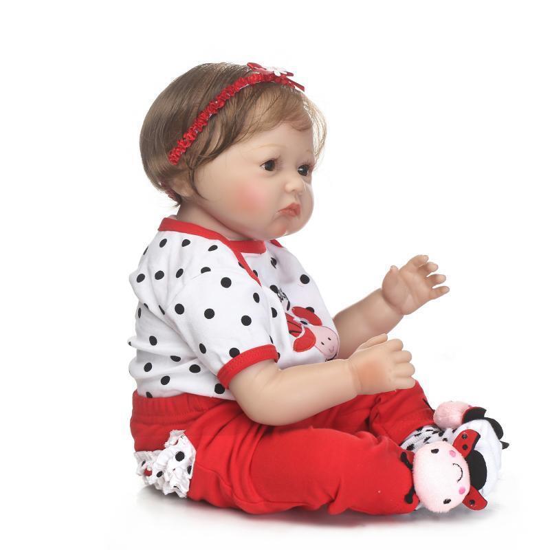55cm BAMBINO BEBE RINATO BABY GIRL bambole realistici neonato realistico Giocattoli Regalo UK