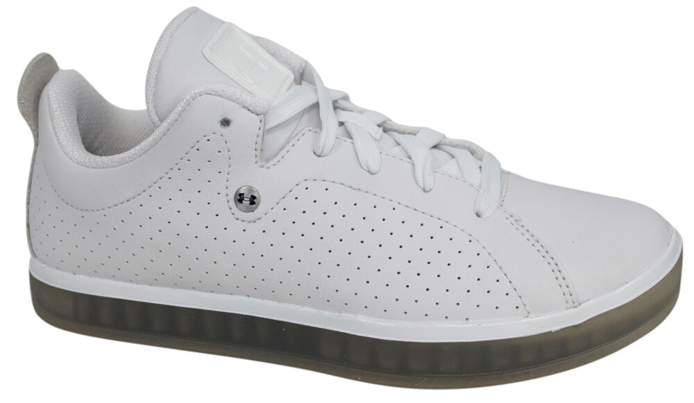 Under Armour Mobtown Lace Up White Casual Mens Trainers 1231374 101 U72