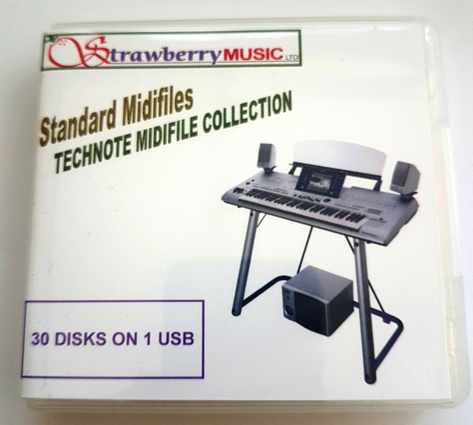 TECHNOTE midifile collection - 30 disk set on one USB. 300+ songs for EKL books