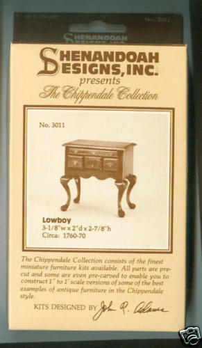 Miniature Dollhouse Houseworks KIT Lowboy