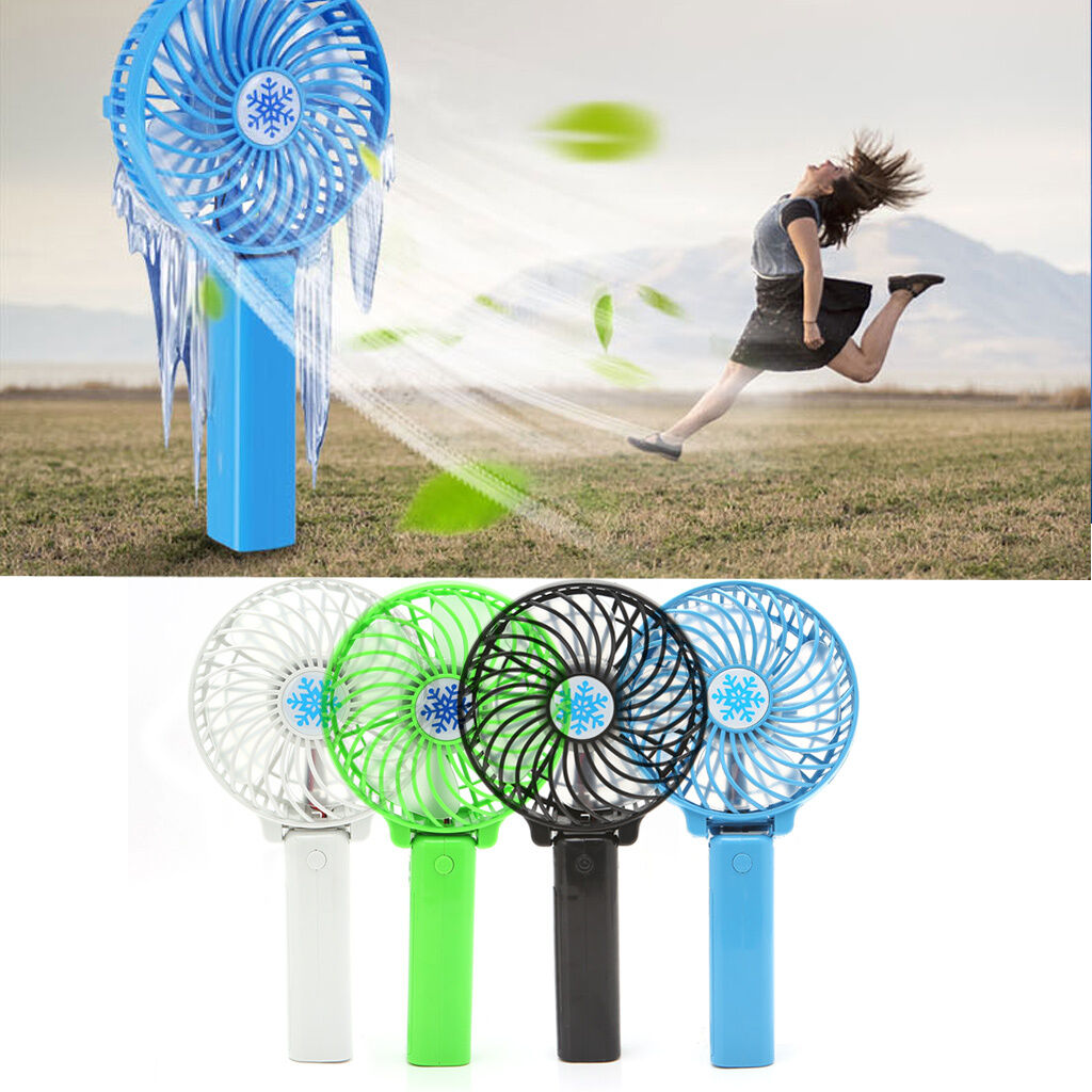 Mini Portable Hand Held Desk Fan Cooler Cooling Usb