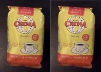 Crema Brand Coffee From Puerto Rico, 2 Bags Ground Coffee, 14oz