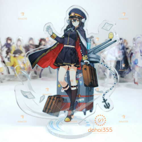 Gift Stereo Stand Figure Anime Azur Lane Scene Cosplay Two-Sided Decoration #X32