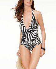 45c413149e item 2 New Carmen Marc Valvo Swimsuit Bikini 1 one piece Sz 8 V neck Halter  Tie -New Carmen Marc Valvo Swimsuit Bikini 1 one piece Sz 8 V neck Halter  Tie