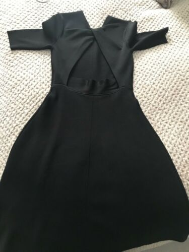 Detail Uk Back Black Twist Open Beckham Dress Victoria 6 tz8qv