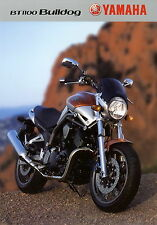 Prospekt Yamaha BT 1100 Bulldog Motorradprospekt 3MC-BT1100-03E brochure Japan