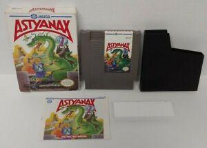 Astyanax NES Nintendo Game Original BOX Complete CIB Manual Dust Cover