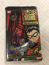 Teen Titans TCG CCG Series 1, 10-card Booster Box Lot Of 24 Packs For Card Game