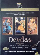 DEVDAS- ORIGINAL EROS BOLLYWOOD 2 DVD COLLECTERS SET - Shah Rukh Khan,