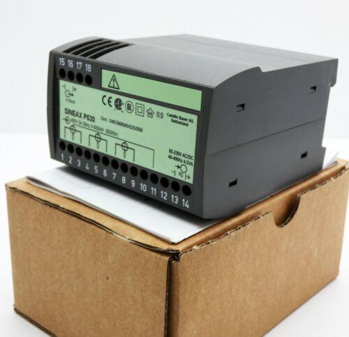 unused//OVP Camille Bauer SINEAX P530 400V 0-500kW Messumformer