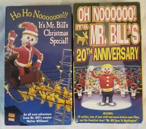Snl Christmas Special.Details About Mr Bill 20th Anniversary And Christmas Special Vhs New Sealed 2 Vhs Snl Lot