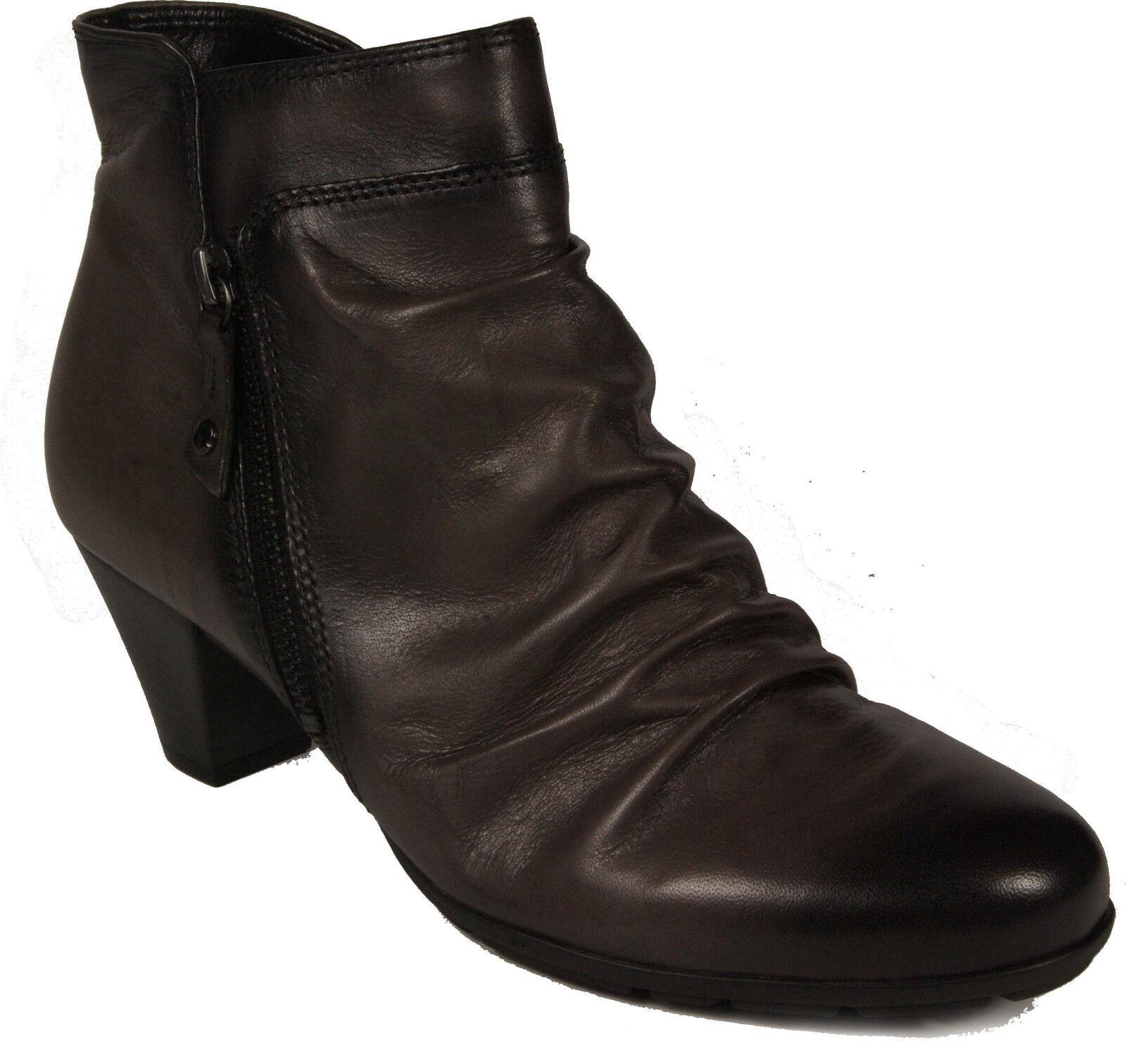 GABOR Schuhe zinn Stiefeletten grau zinn Schuhe Kurzstiefel  NEU 40df84