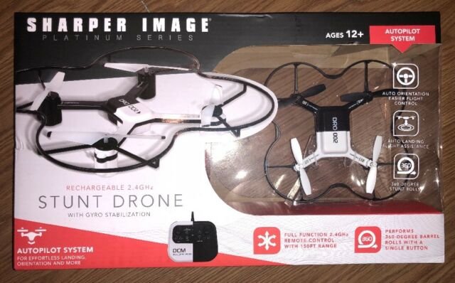 Sharper Image Platinum Series Stunt Drone Rechargeable 24ghz Ebay