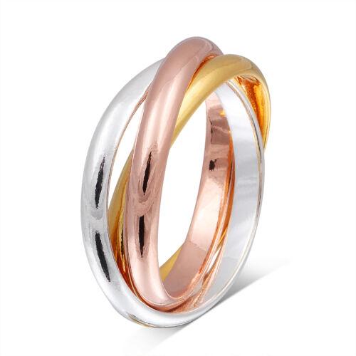 Un bonito anillo modernas de plattiertem plata anillo de la promesa nrsp 6 nrsp 7
