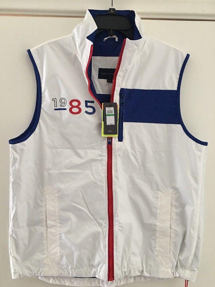 Tommy Hilfiger Heritage Collection Vintage Sailing Gear Vest Shirt SZ: Large
