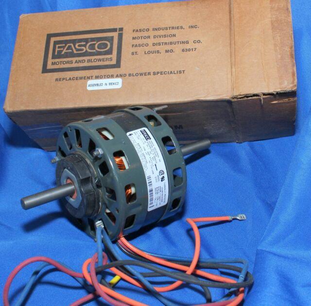 condenser fan motor stud 115v 1050 rpm fasco d1010 for sale onlinefasco d1010 oem replacement hvac blower motor new old stock
